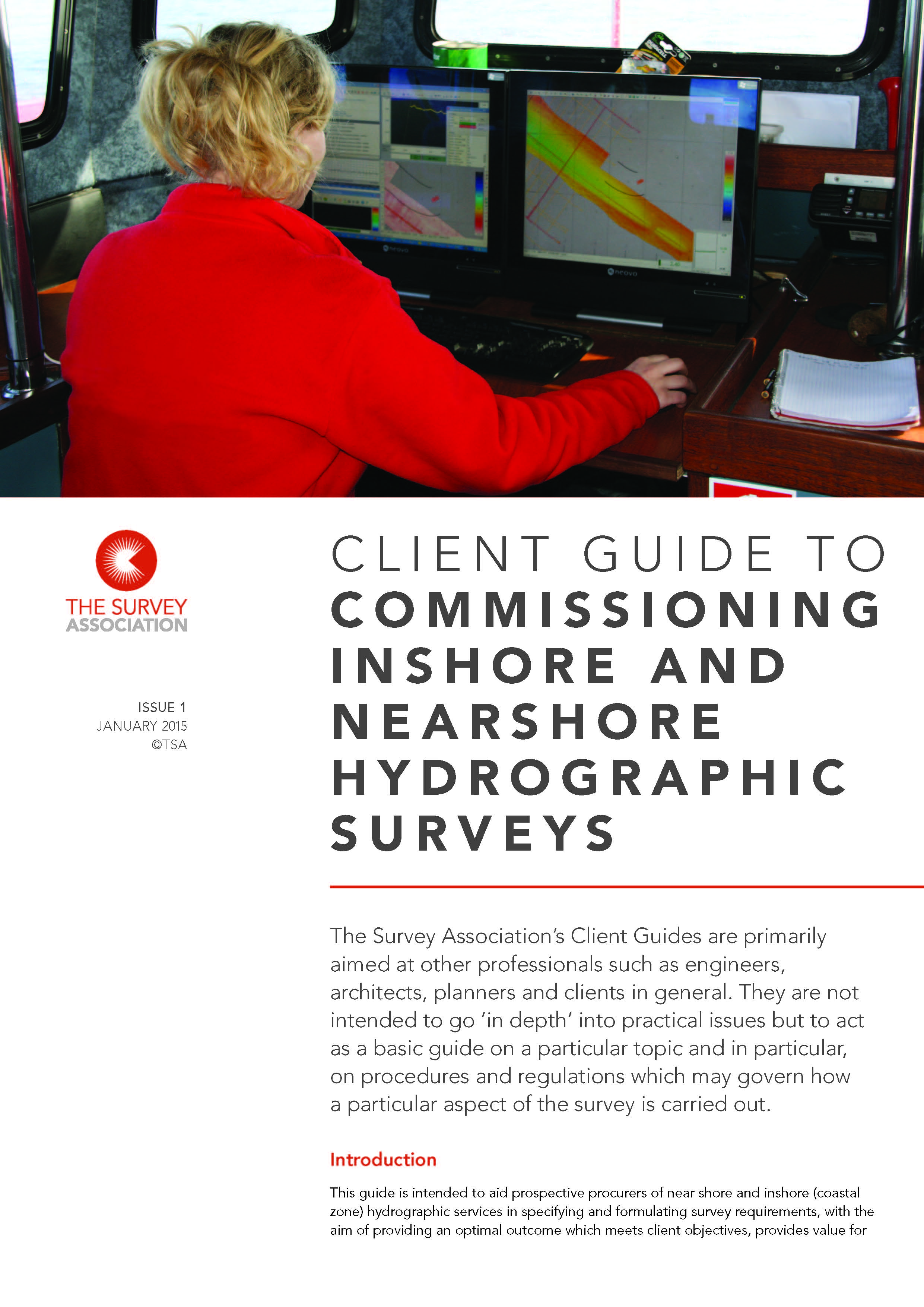 New TSA Client Guide – Commissioning Inshore & Nearshore Hydrographic Surveys
