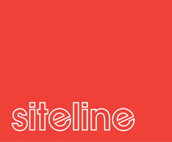 Siteline logo red