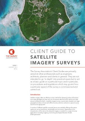 The Survey Association S TSA Guidance Notes